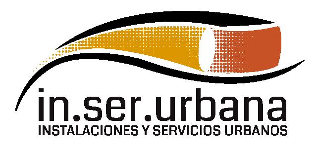 Página web de In.Ser.Urbana, instalaciones y servicios urbanos