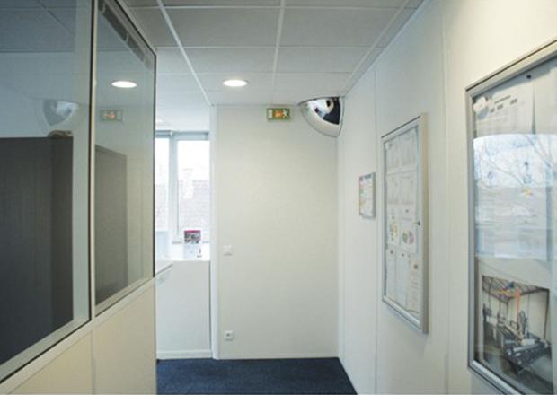 Espejos de seguridad hemisf ricos for Espejos de seguridad